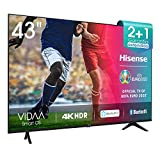 Hisense 43AE7000F UHD TV 2020 - Smart TV Resolución 4K con Alexa integrada, Precision Colour,...